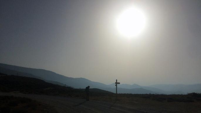 Sunrise over the Sierra Nevada