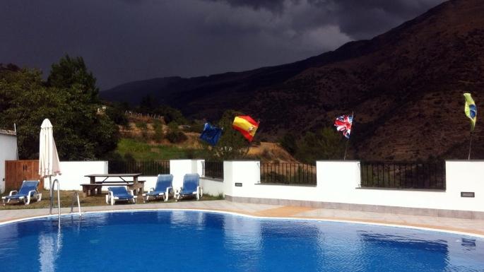 Swimming pool at La Fragua II